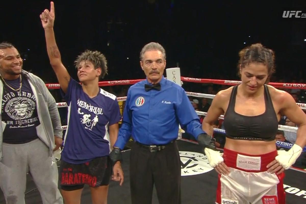 Simone Da Silva dominates Ikram Kerwat on UFC Fight Pass - Bad Left Hook