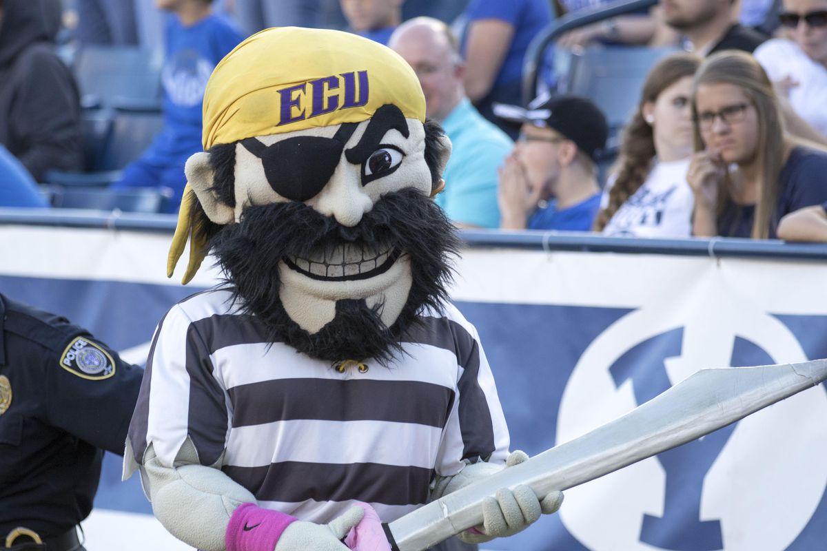 NCAA Football: East Carolina at Brigham Young