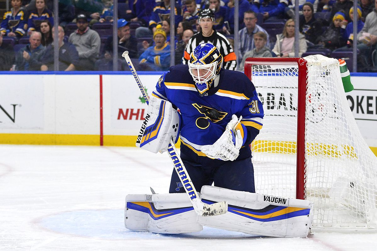 NHL: Vancouver Canucks at St. Louis Blues