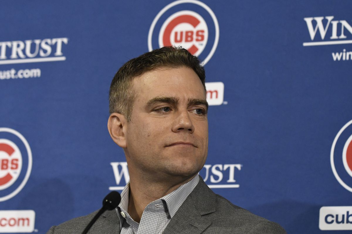 Chicago Cubs Introduce David Ross - News Conference