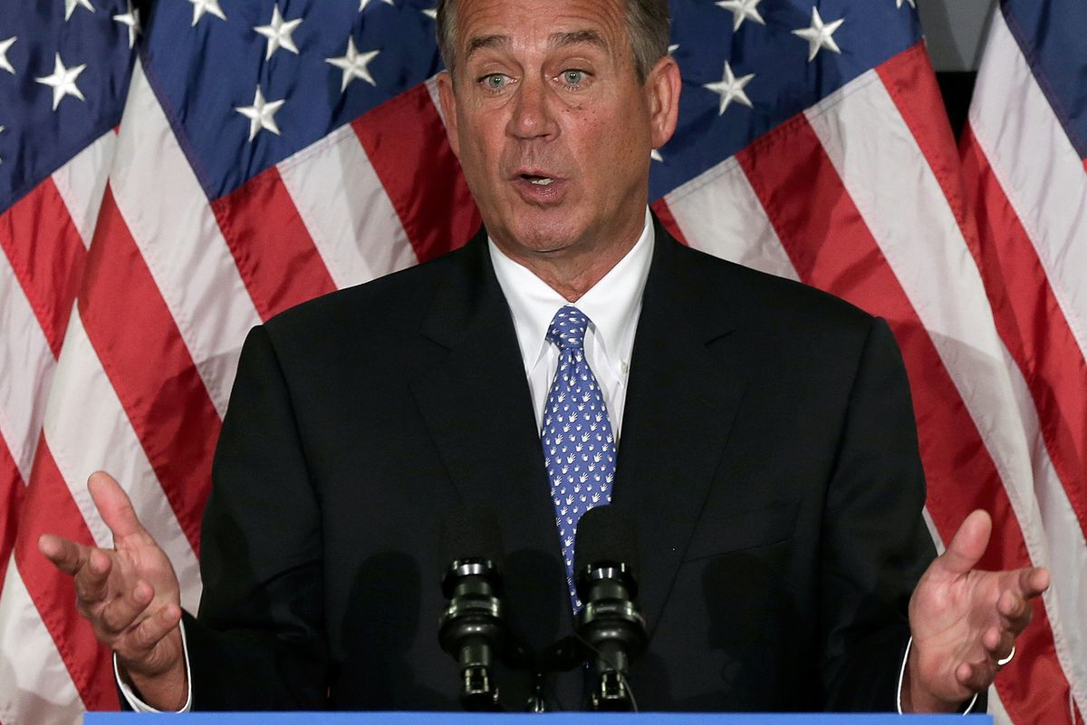 John Boehner doesn't know. And if he does, he's not telling.