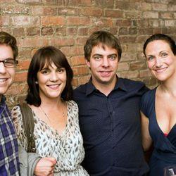 The Feast's Matt Duckor, Eater's Amanda Kludt and Lockhart Steele, and Fathom Away's Pavia Rosati