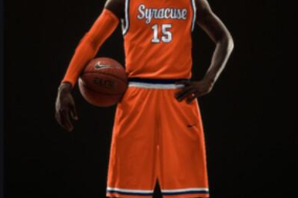 Syracuse Throwbacks Come With Orange Shorts Too Fyi Troy Nunes Is