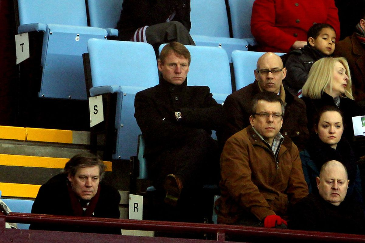 Stuart Pearce watched the Manchester City match. Yet somehow, seven Villans made the list for consideration for Team GB.