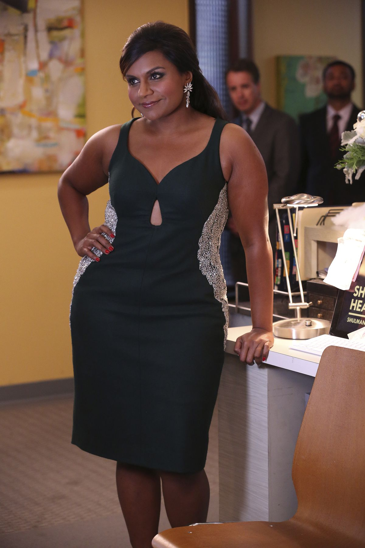 Mindy Kaling as Mindy Lahiri in season 3 of The Mindy Project.