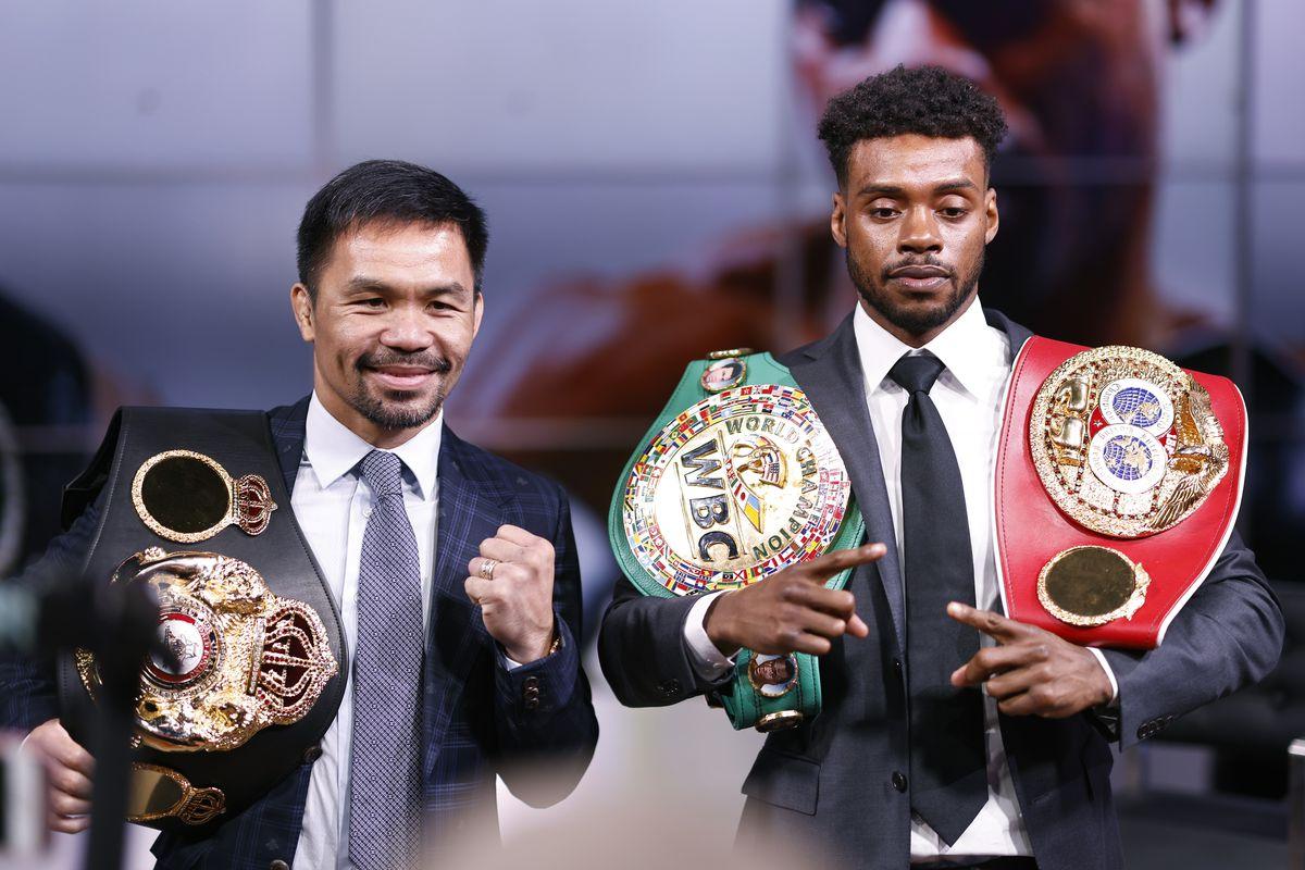 Errol Spence Jr v Manny Pacquiao - Press Conference