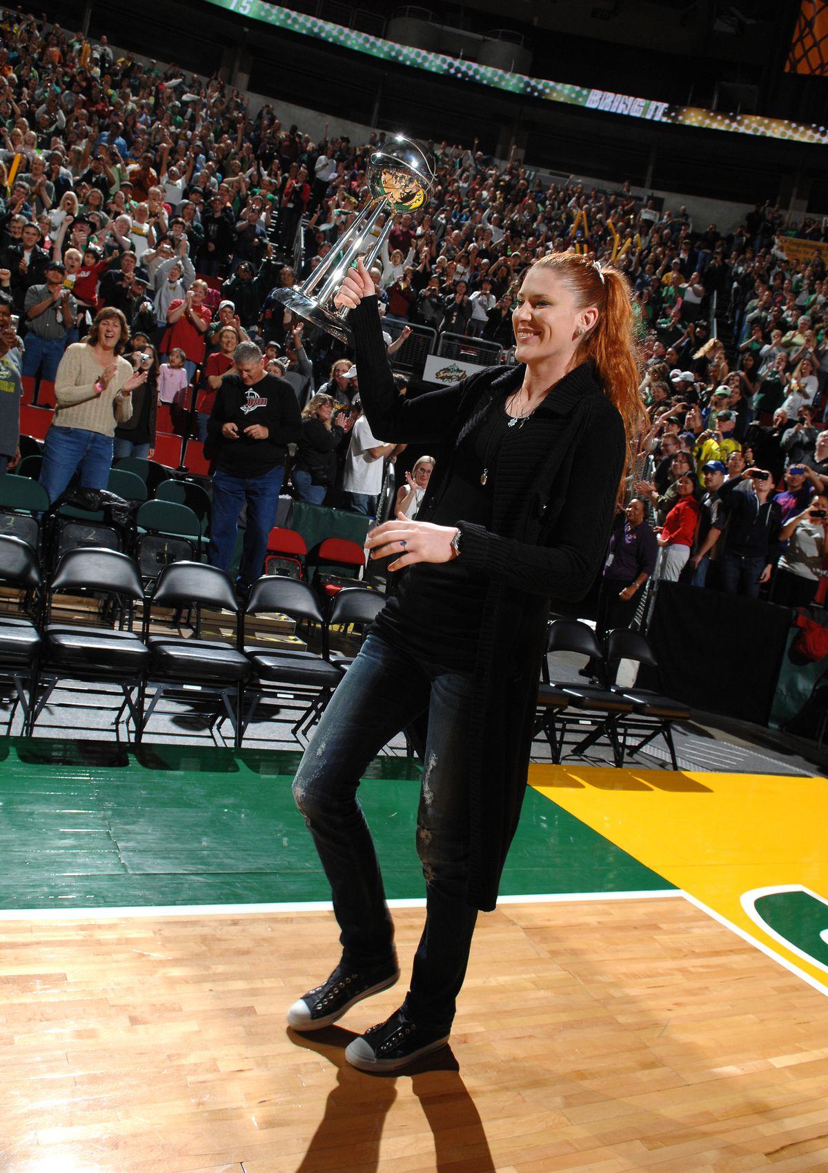 Seattle Storm 2010 WNBA Finals Celebration