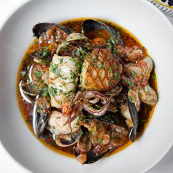 Carbone seafood soup