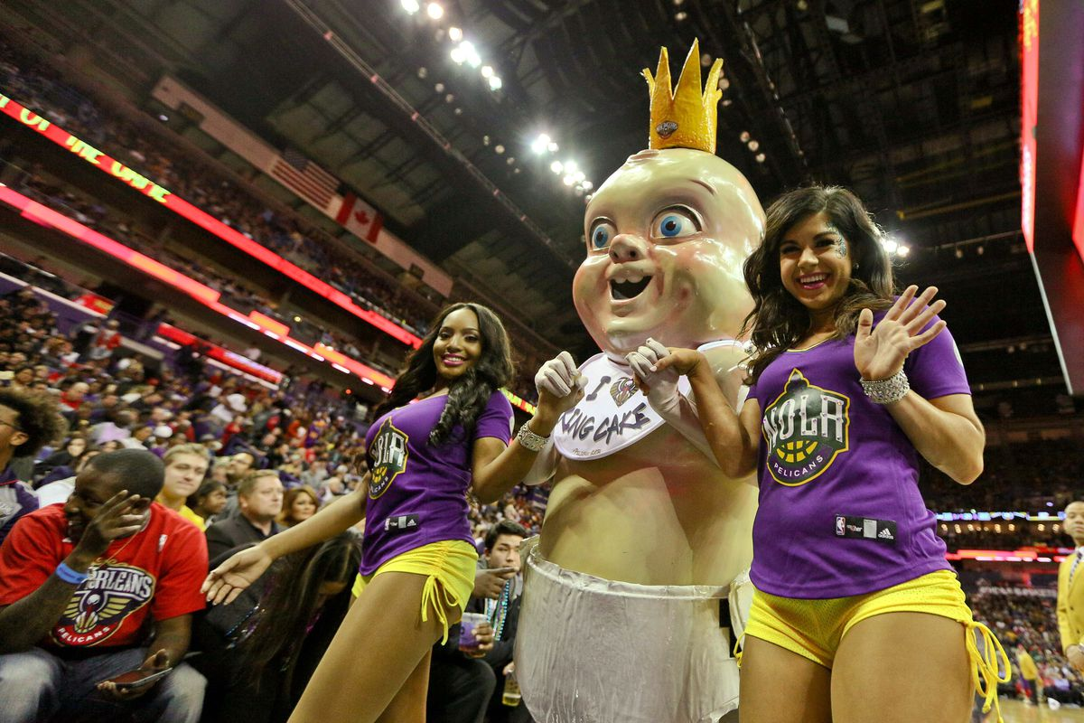 You Have To Get Past King Cake Baby S Terrifying Exterior To
