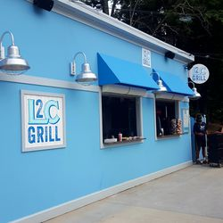Another Buffett-inspired food source, the License 2 Chill Grill, offers cheapish eats to patrons.
