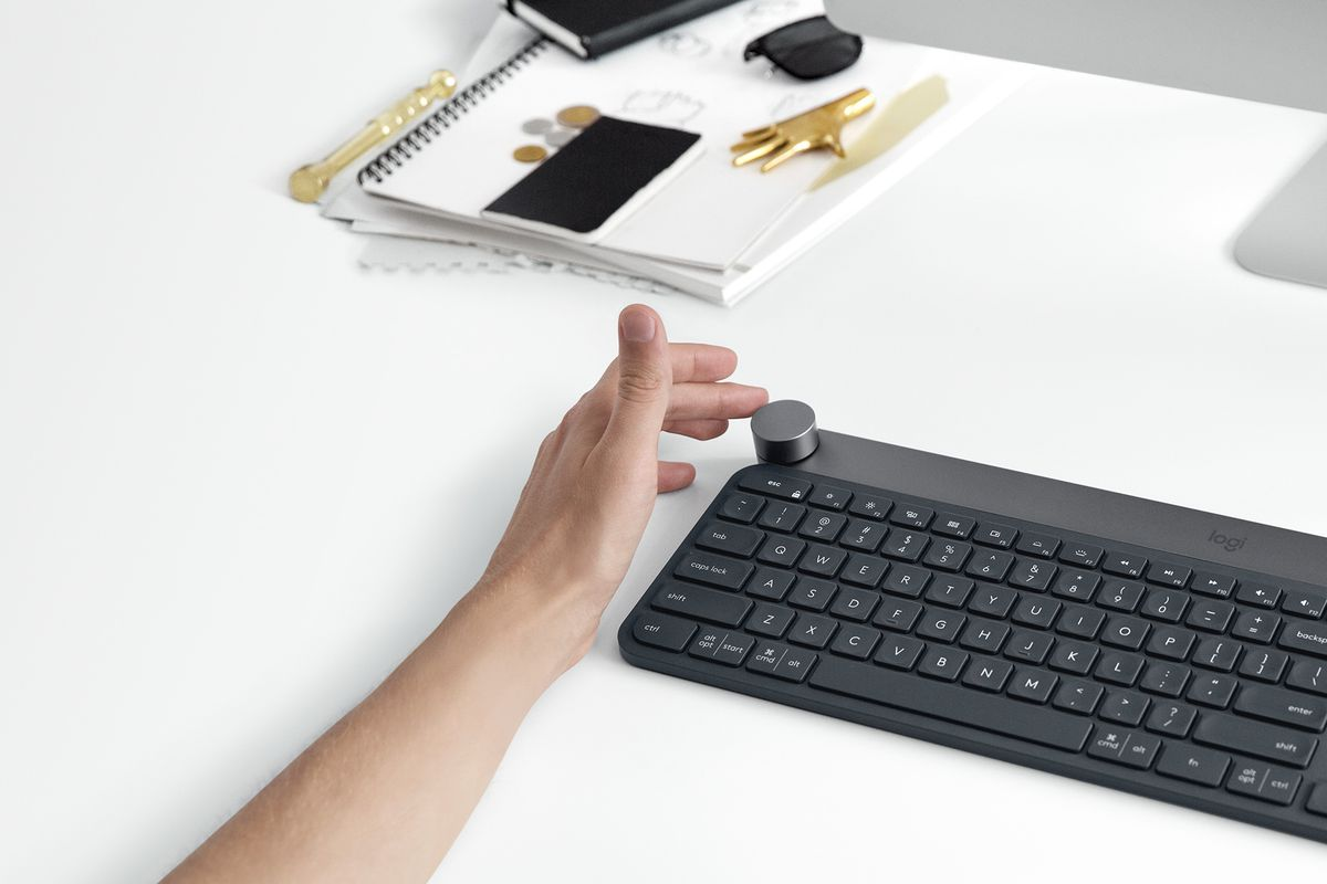 aa5b6022d74 Logitech's customizable dial Craft keyboard gets Lightroom support and an  open SDK
