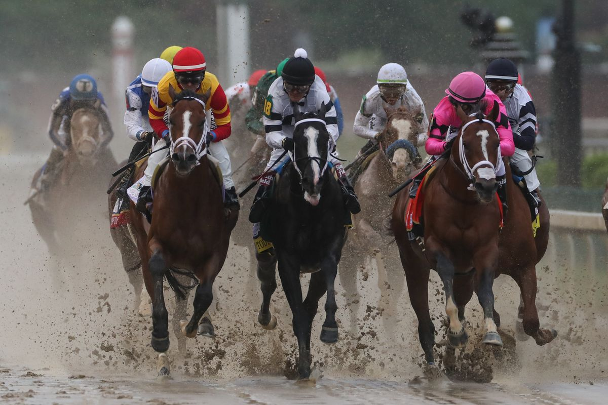 The Kentucky Derby foul that disqualified Maximum Security