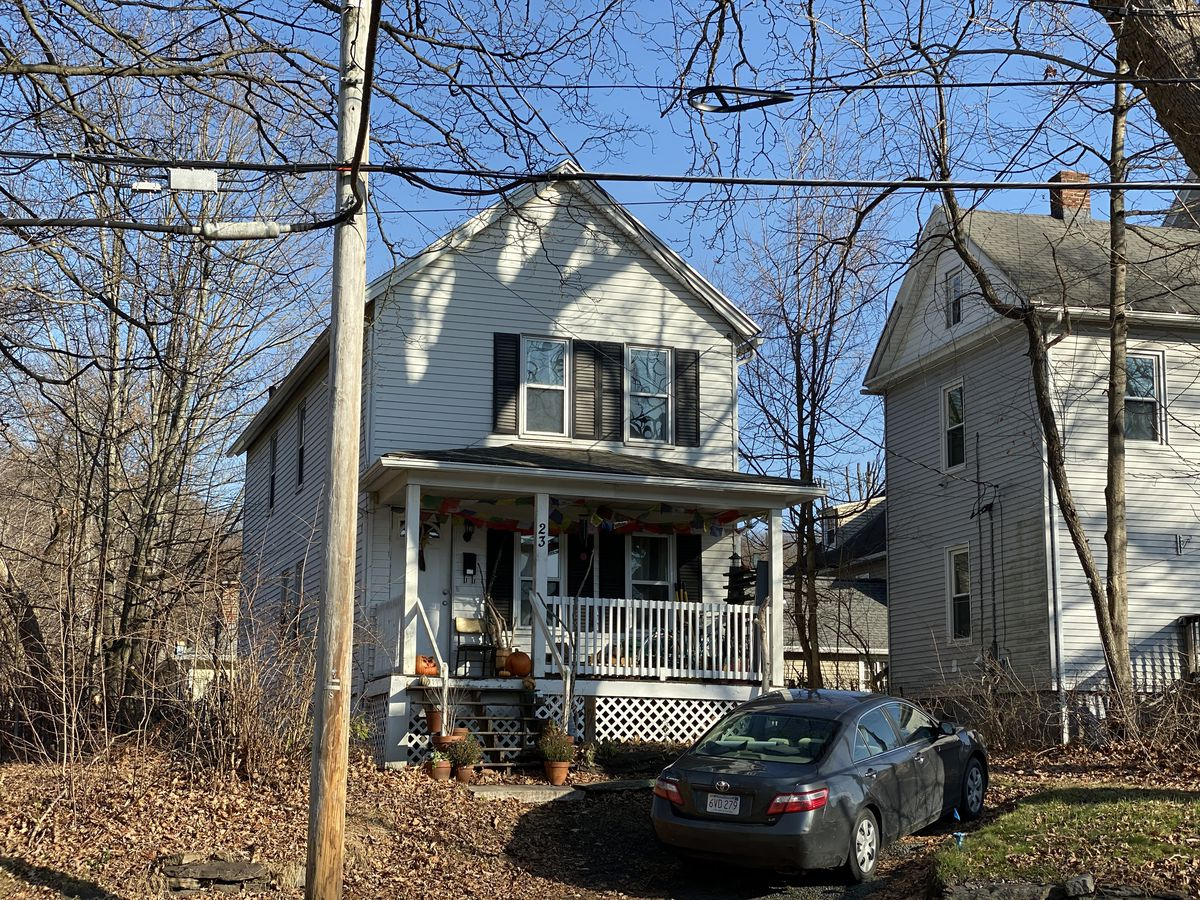 A photo of my old house in South Hadley, Mass.