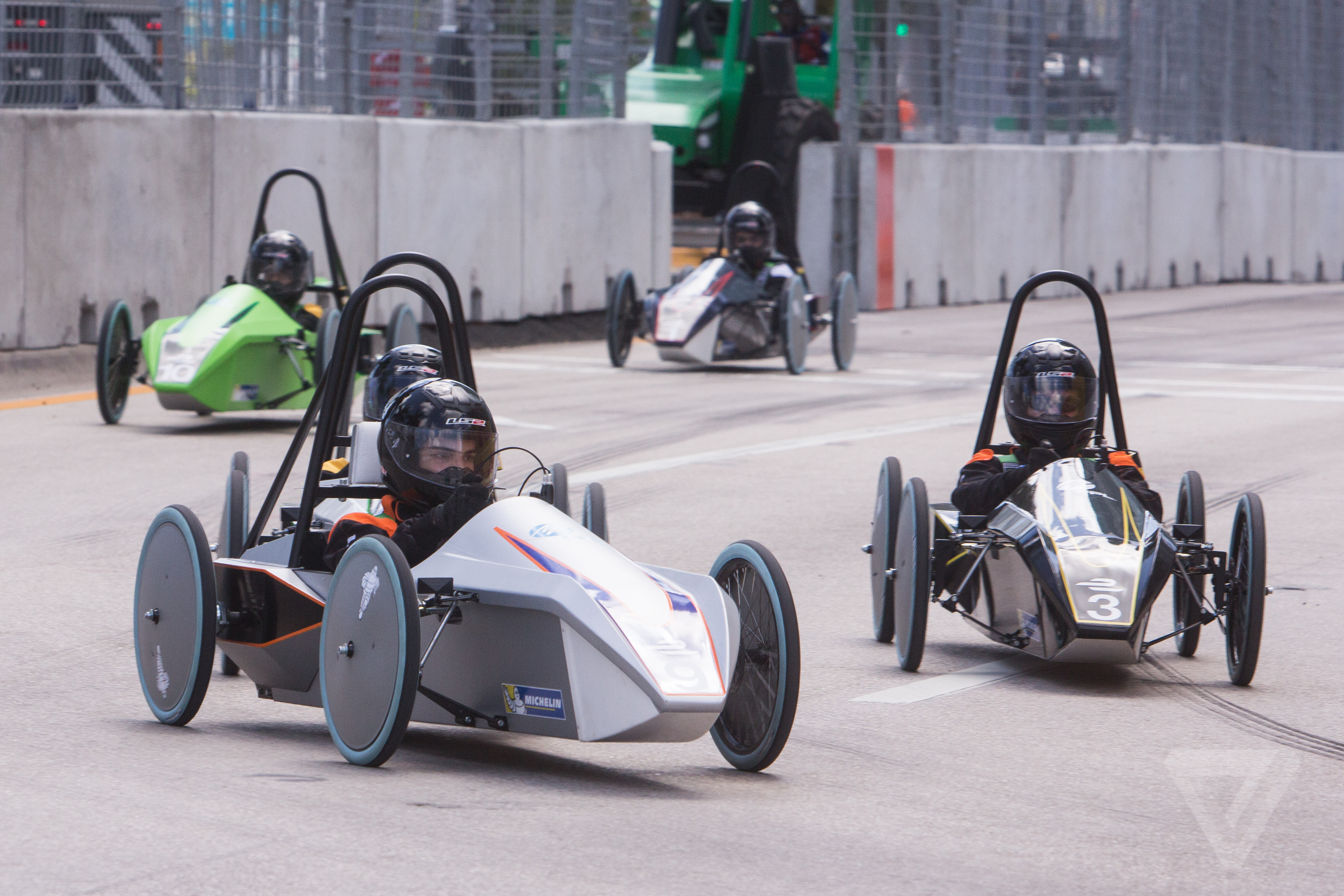 These Bullet Shaped Electric Race Cars Are Turning Teens Into