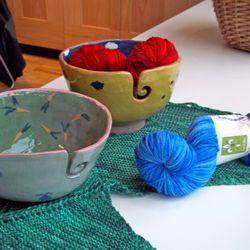 Hand Made Yarn Bowls