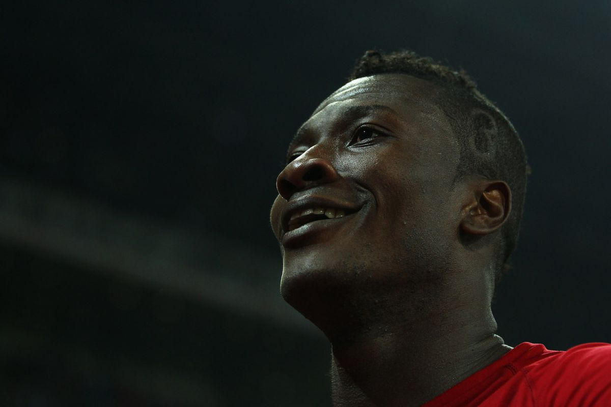 Could Asamoah Gyan be the fall guy when a new striker arrives?