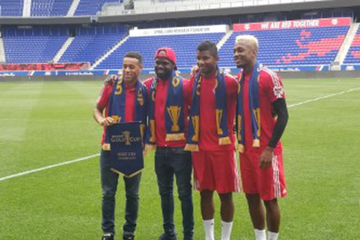Red Bull Arena Hosts 2019 Gold Cup Once A Metro