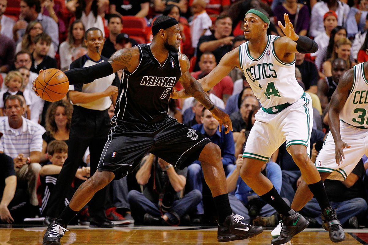 The Paul Pierce vs. LeBron James Rivalry Continues - CelticsBlog