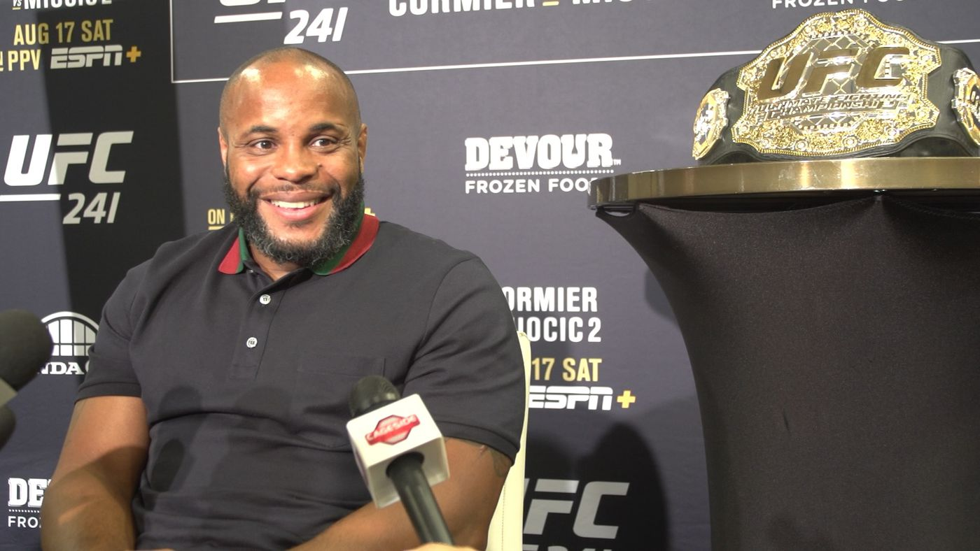 Daniel Cormier from rags to riches: 'I was a broken man when I started fighting'