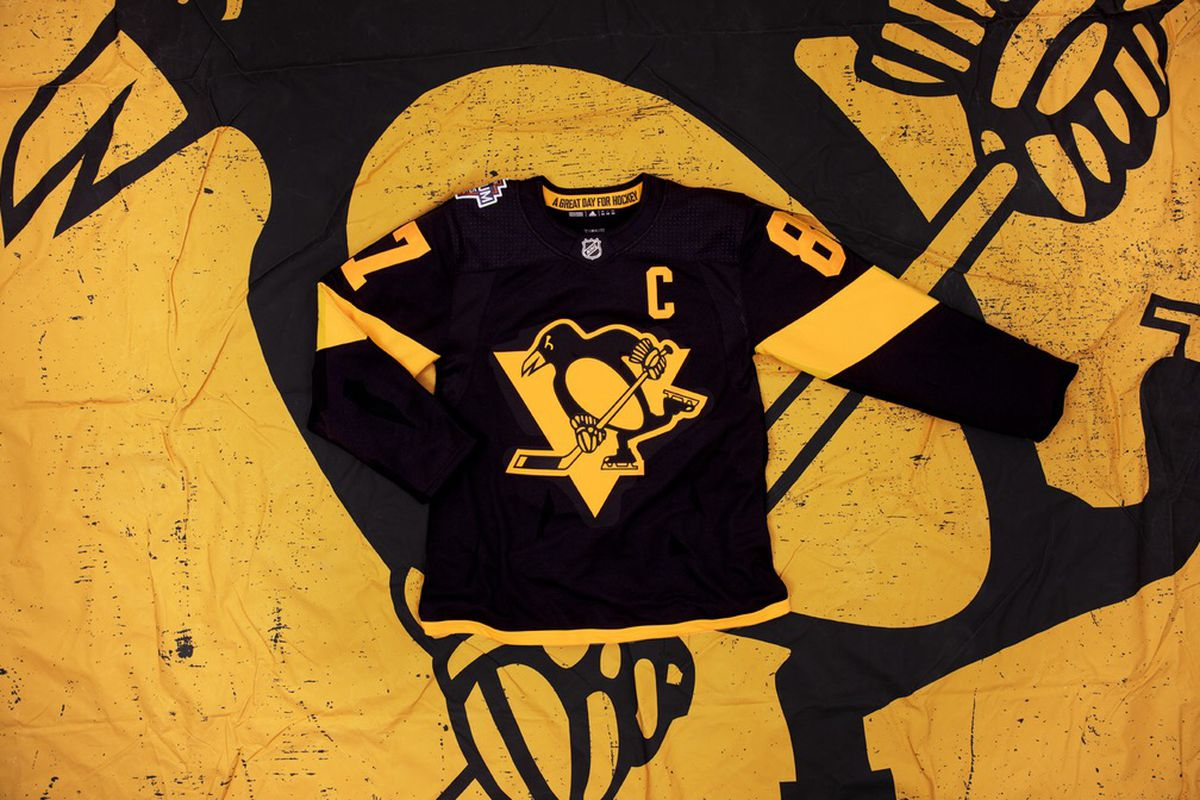 5d424fdd8 Adidas unveils Penguins  and Flyers  2019 Stadium Series jerseys ...