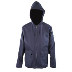 """A.P.C. Iceland Windbreaker (<a href=""""http://rsvpgallery.com/sale/a-p-c-iceland-navy.html"""">$282.00, down from $470</a>)"""