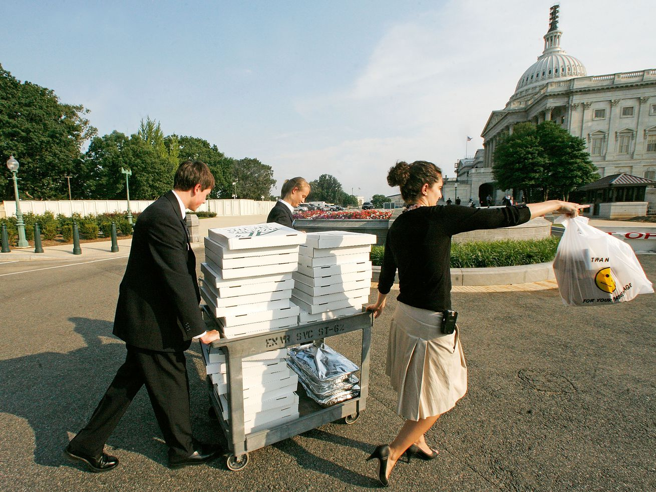As it is now, most congressional interns don't get any pay.