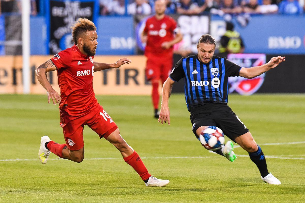 SOCCER: JUL 13 MLS - Toronto FC at Montreal Impact