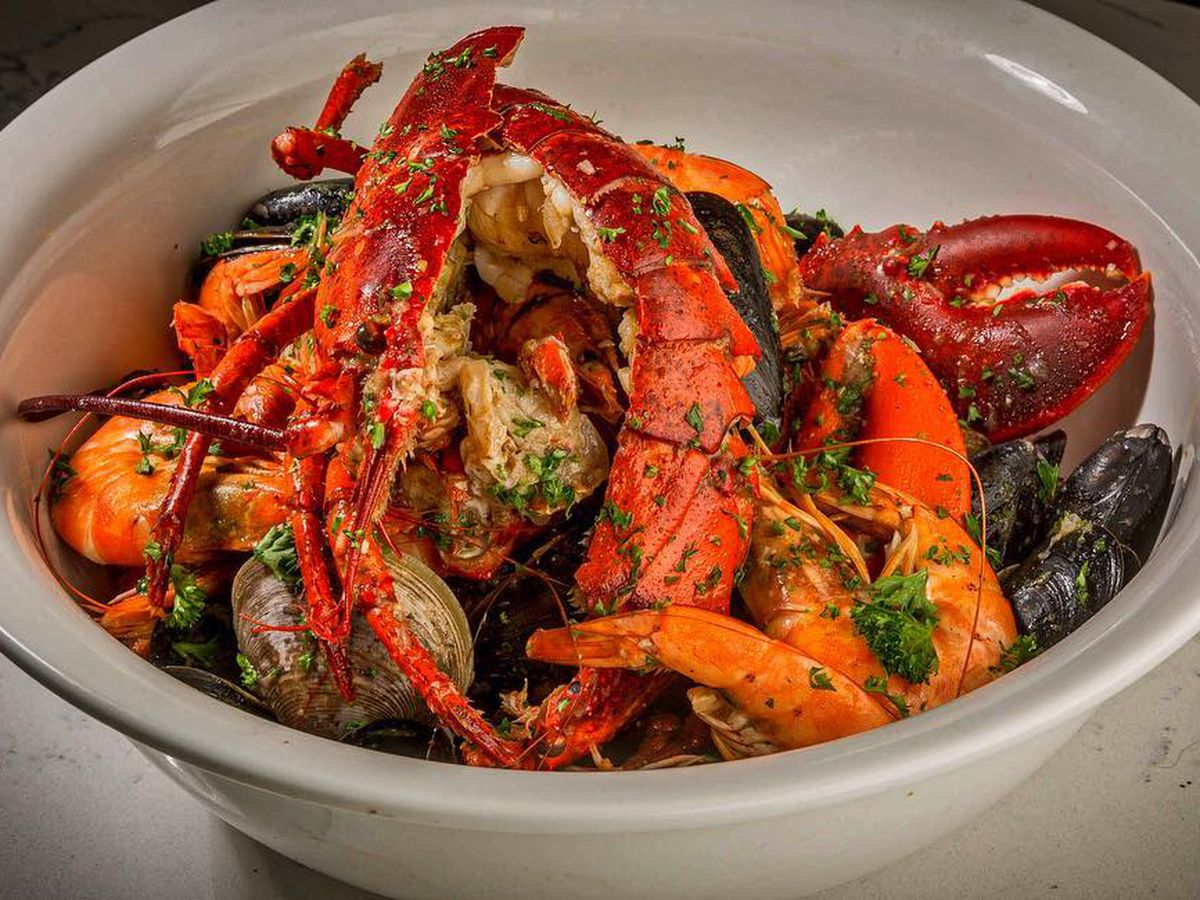 Cajun-style seafood at Bootleg Special
