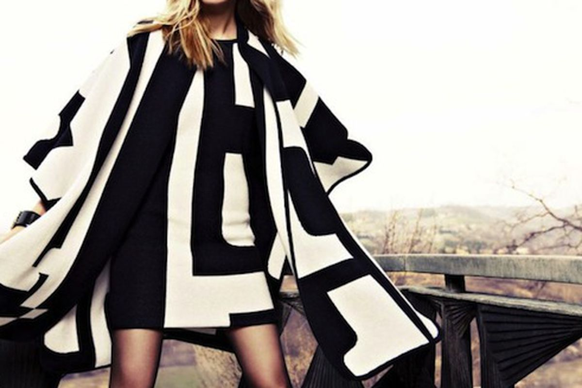 A look from Escada's fall 2012 campaign