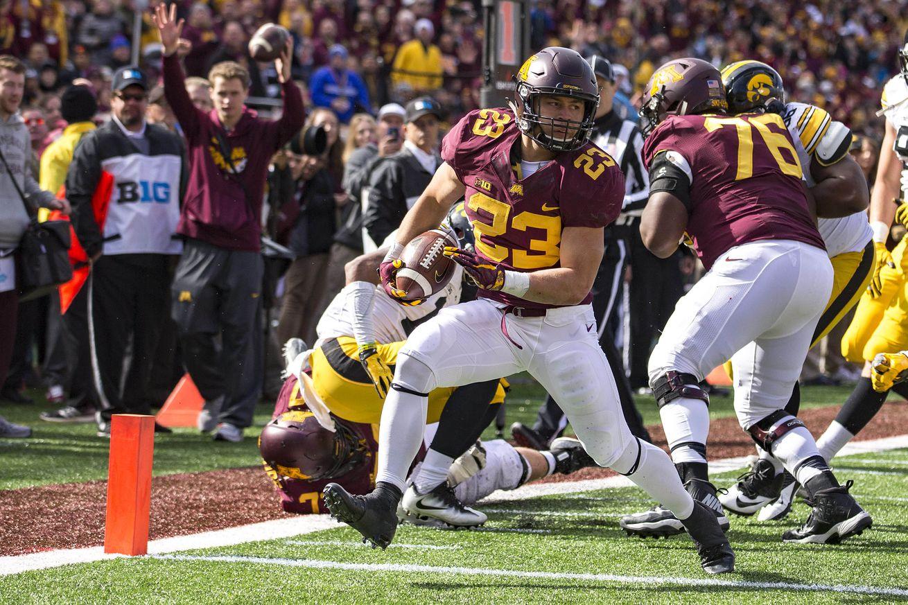 U Mn Gopher Football Score Minnesota Football: Go...