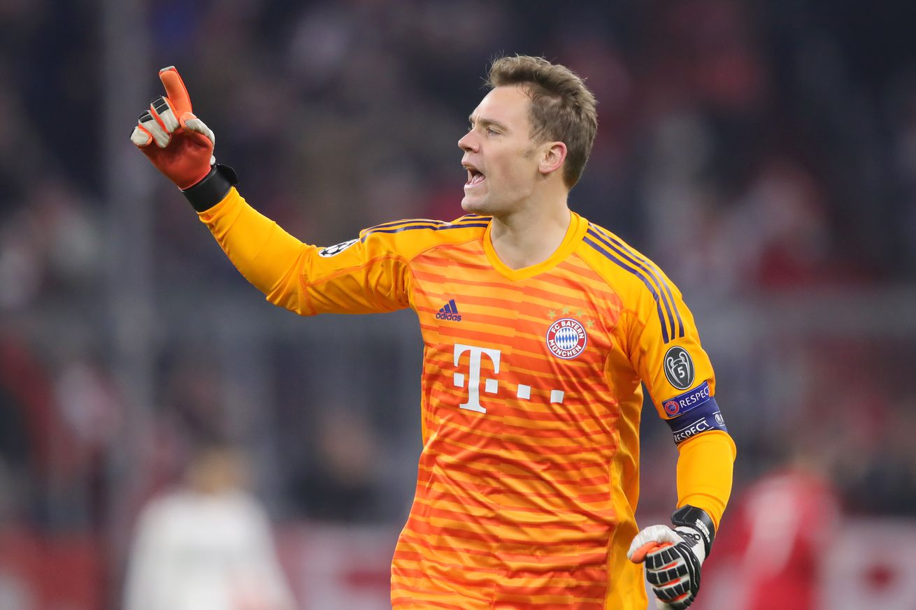 Manuel Neuer is confident for upcoming Liverpool showdown