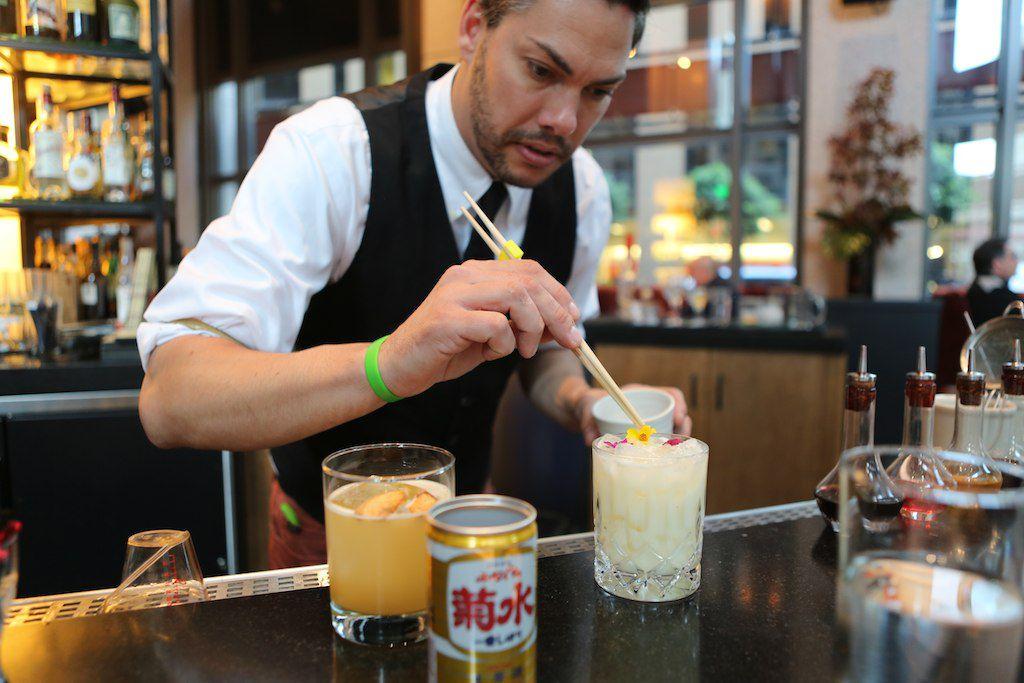 PABU Lead Bartender Nick Jones
