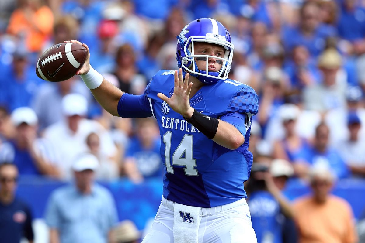 Patrick Towles looks to sling the pigskin around against the Ohio secondary on Saturday.