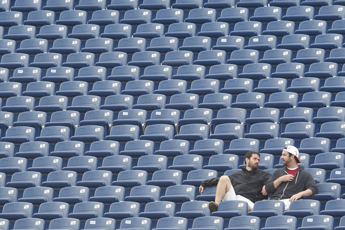 These guys should have stayed home. Then they could watch more College Football games on TV. Idiots.