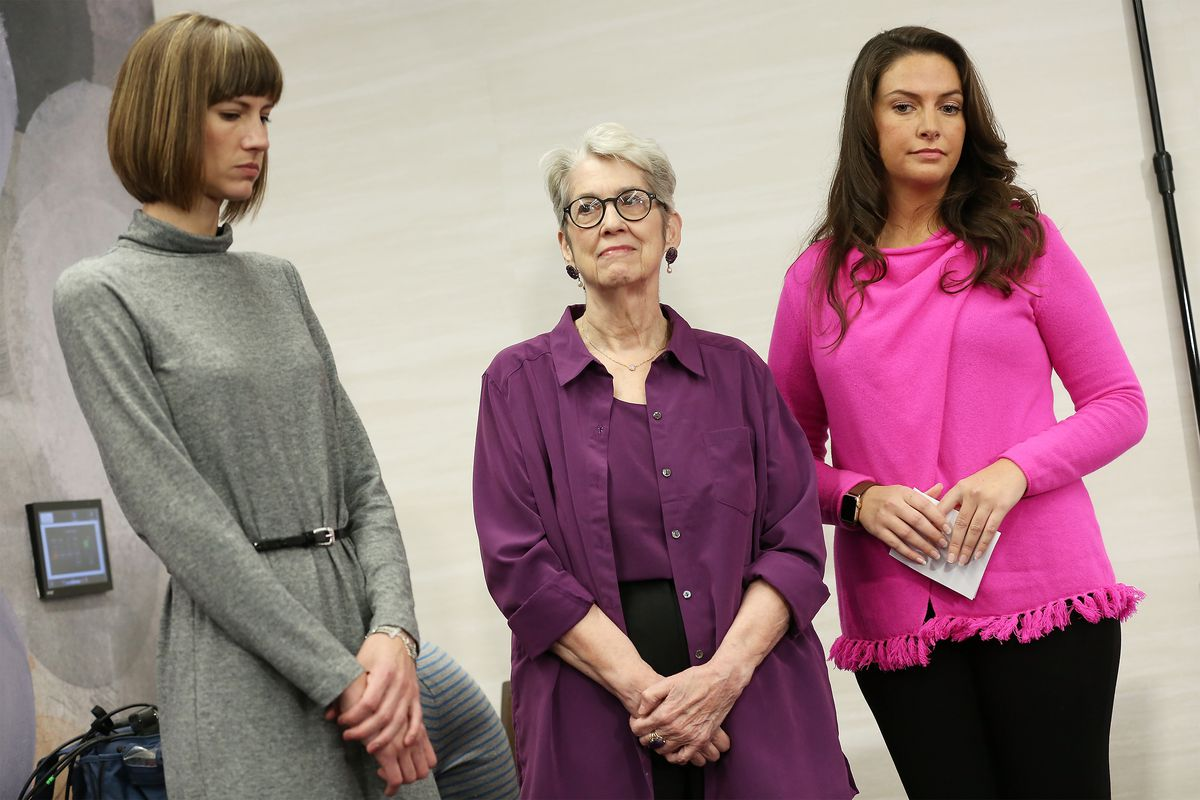 Women Accusing Trump Of Sexual Harassment Hold Press Conference In NYC