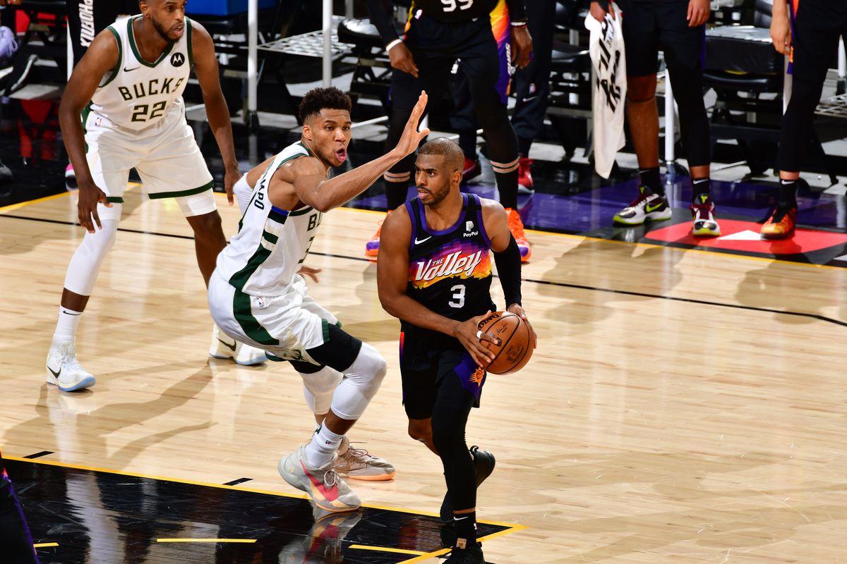 2021 NBA Finals - Bucks v Suns