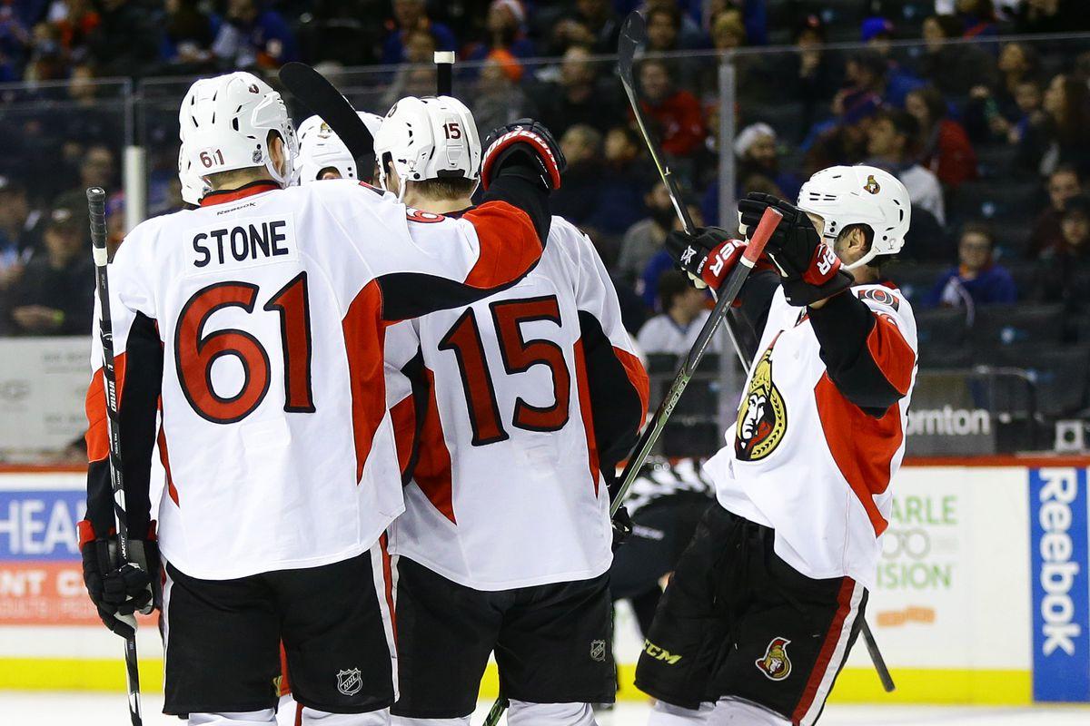 NHL: Ottawa Senators at New York Islanders