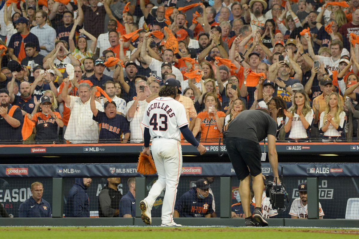 "Division Series ""u2013 White Sox v Astros ""u2013 Game One"