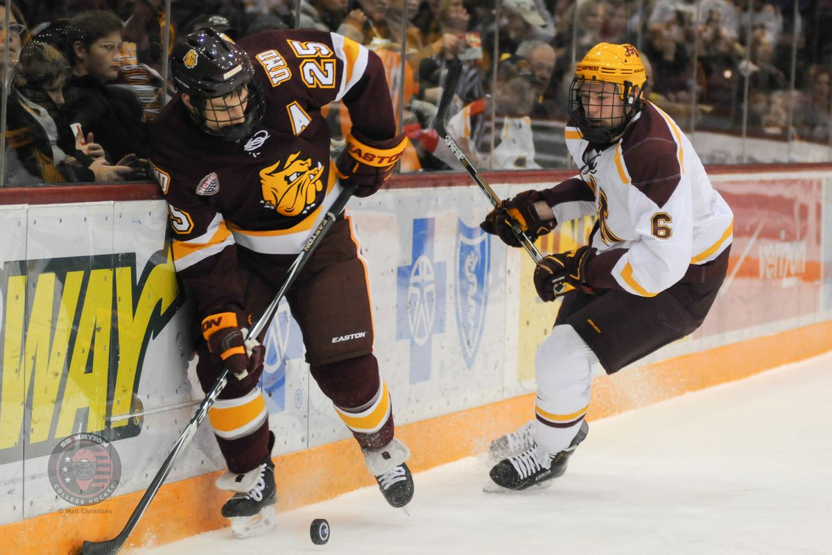 Ryan Collins (6) will play UMD for a sixth (and seventh) time in his career this weekend.