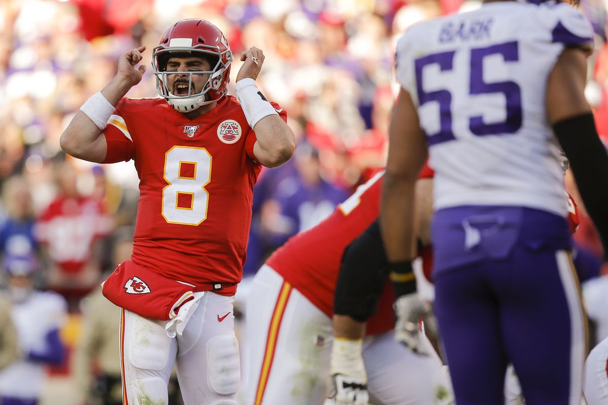 Backup QB Matt Moore made a key adjustment in Chiefs' win over ...