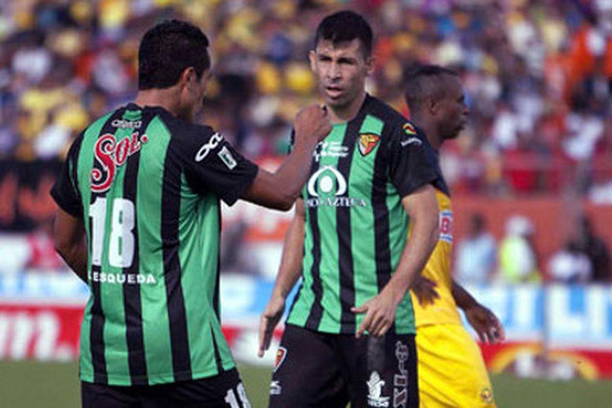 The Jaguares de Chiapas Green Machine.