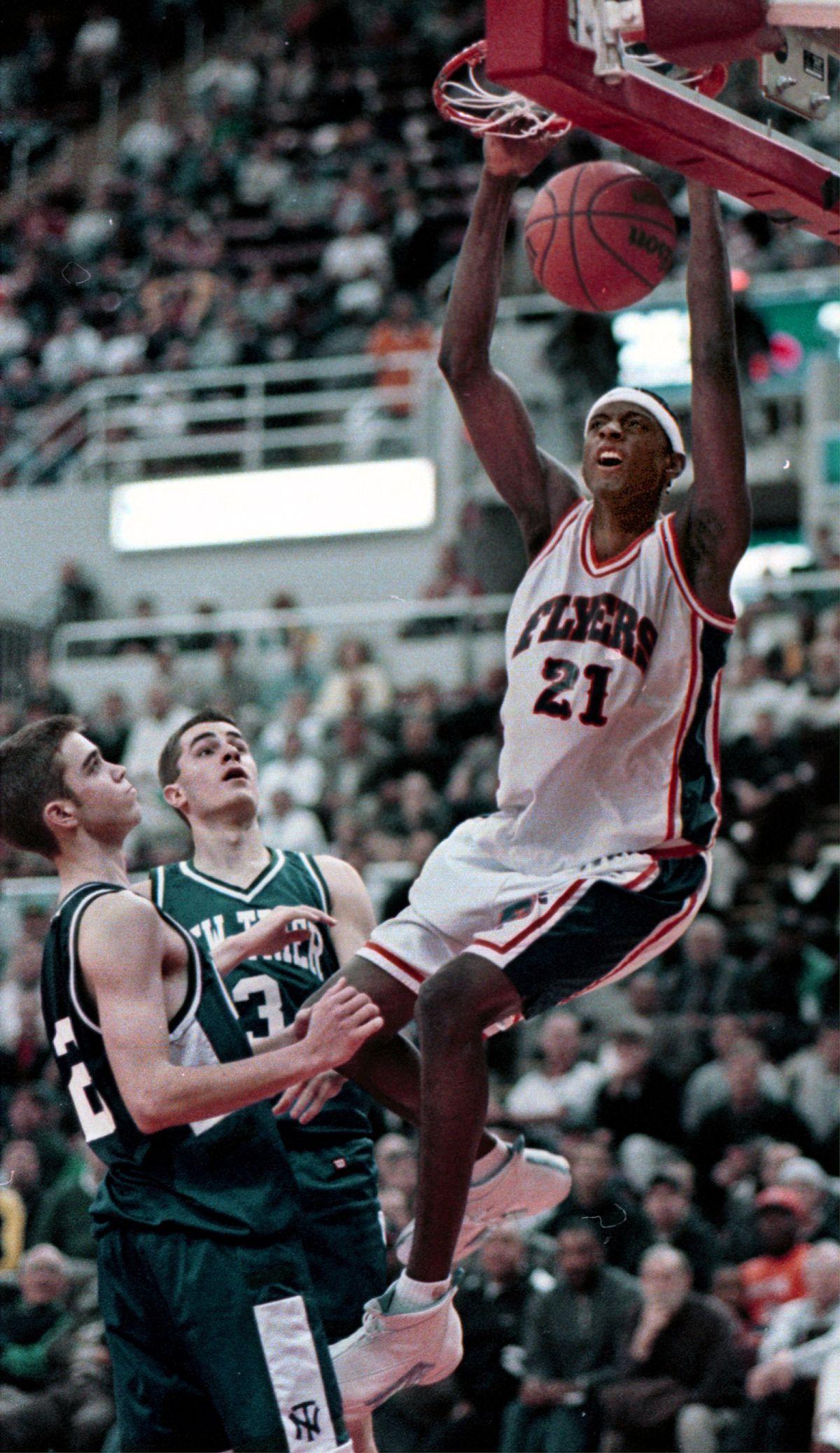 East St. Louis' Darius Miles. Sun-Times file photo.