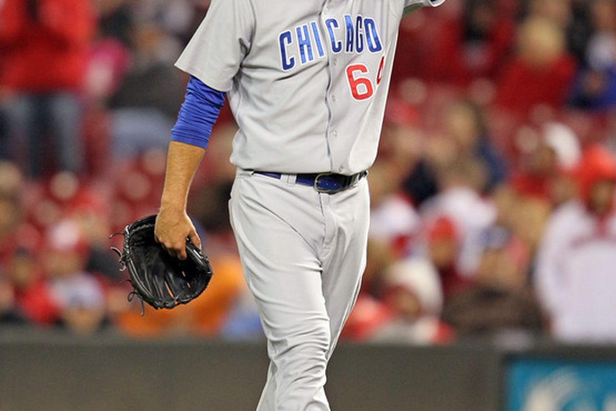 Justin Berg got the win for the I-Cubs tonight.