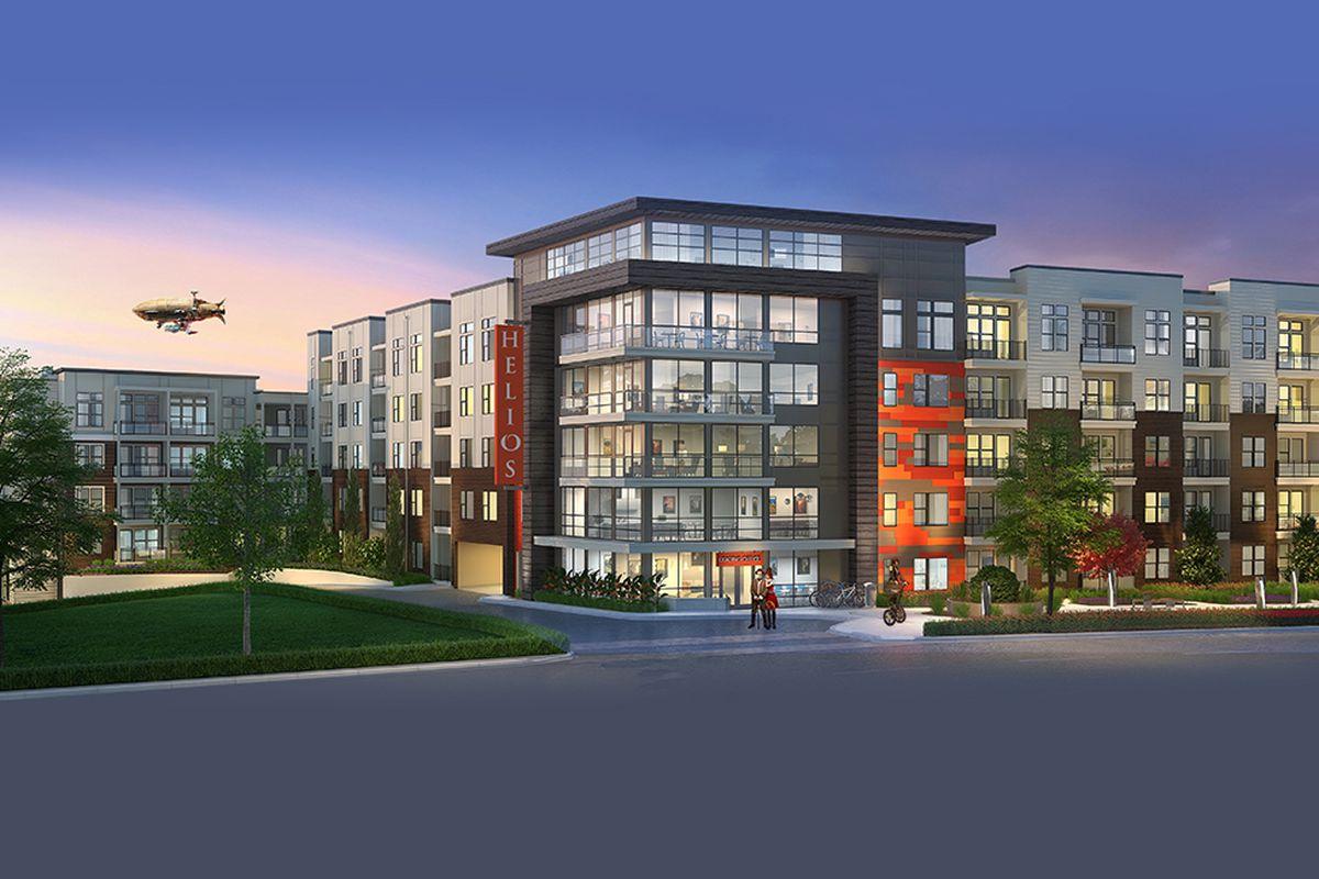 On Atlanta's Cheshire Bridge, first new apartment project ...