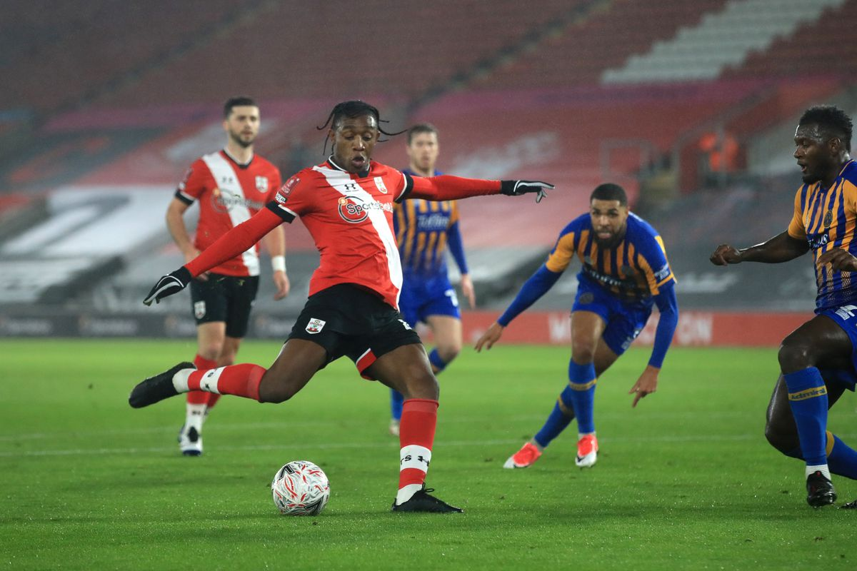Southampton v Shrewsbury Town - Emirates FA Cup - Third Round - St Marys Stadium