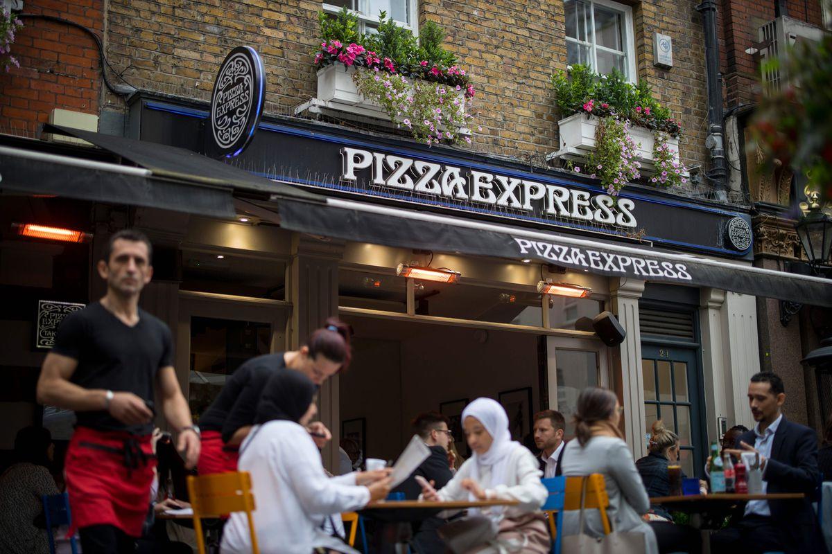 BRITAIN-ECONOMY-RETAIL-PIZZA EXPRESS