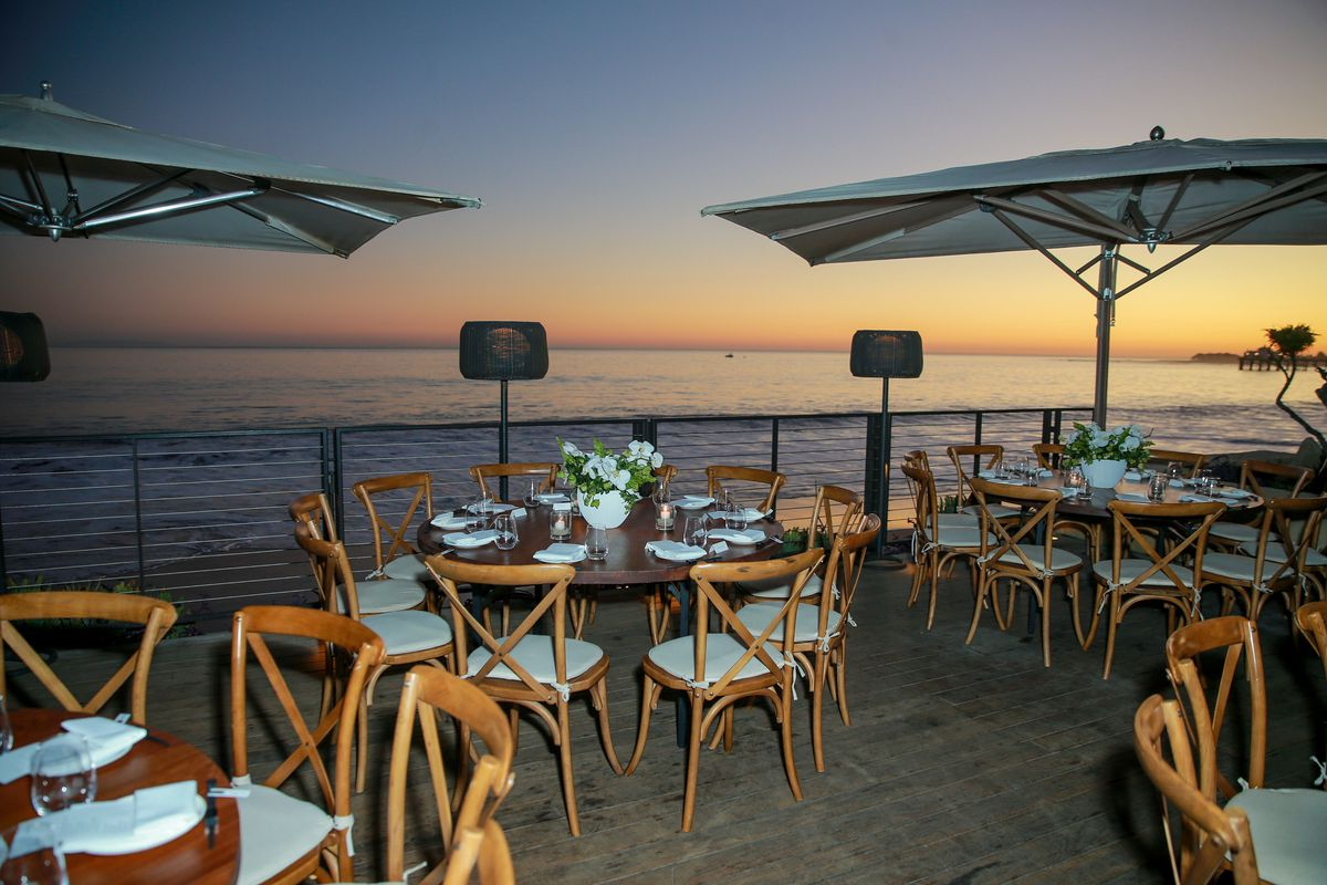 A Malibu Restaurant Overlooking The Ocean Photo By Rich Fury Getty Images For Surface Media