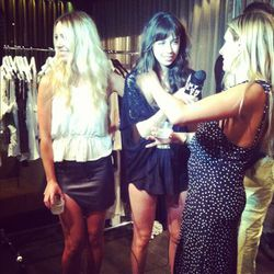 The designers chatting with Nylon TV