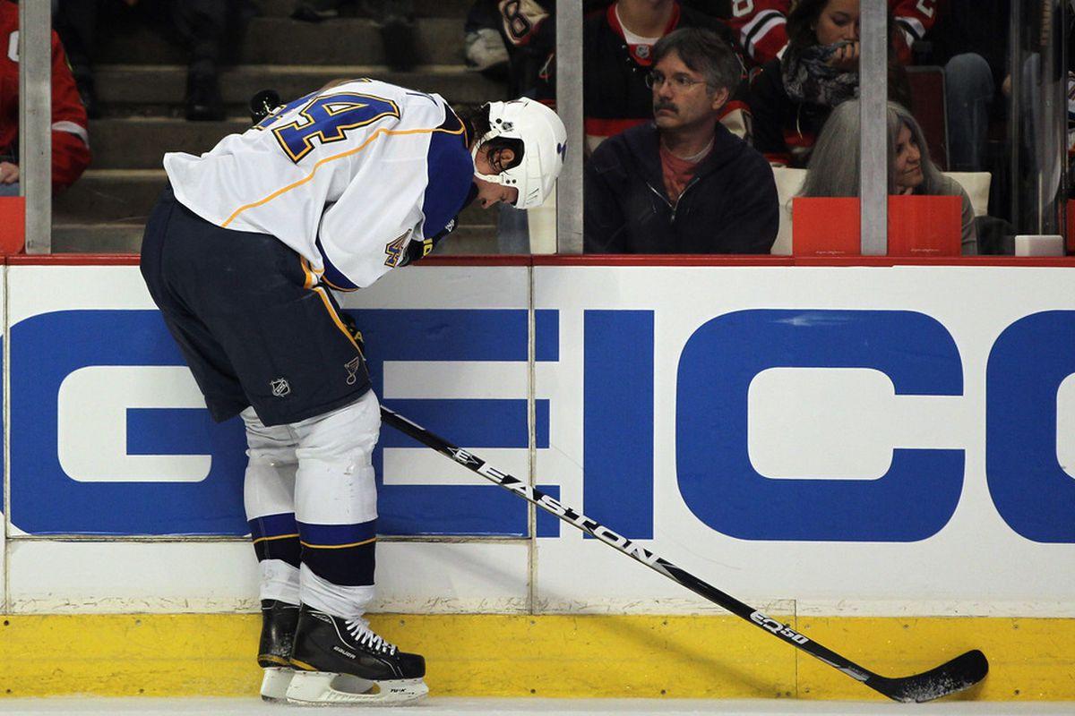 Just like Jason Arnott, I too feel like I got hit in the dick. (Photo by Jonathan Daniel/Getty Images)