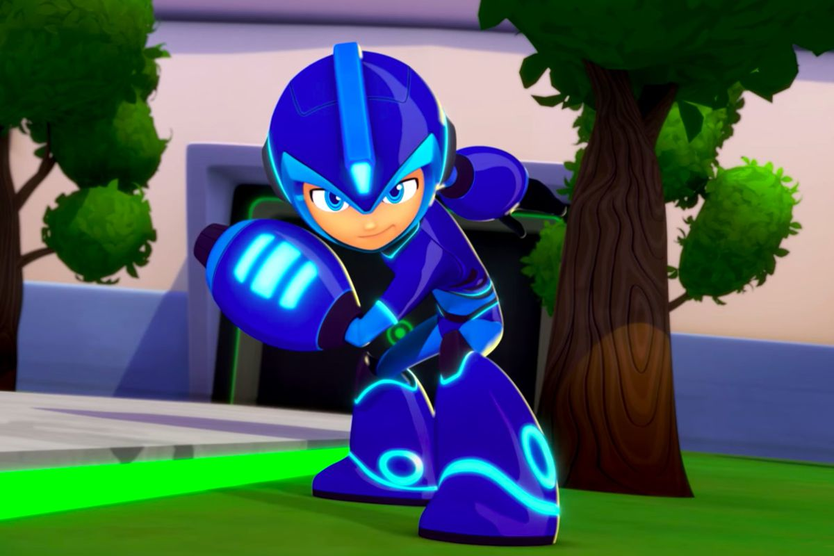 the new mega man cartoon is now available online polygon